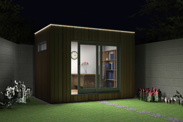 smart garden office. eco smart housing solutions garden office
