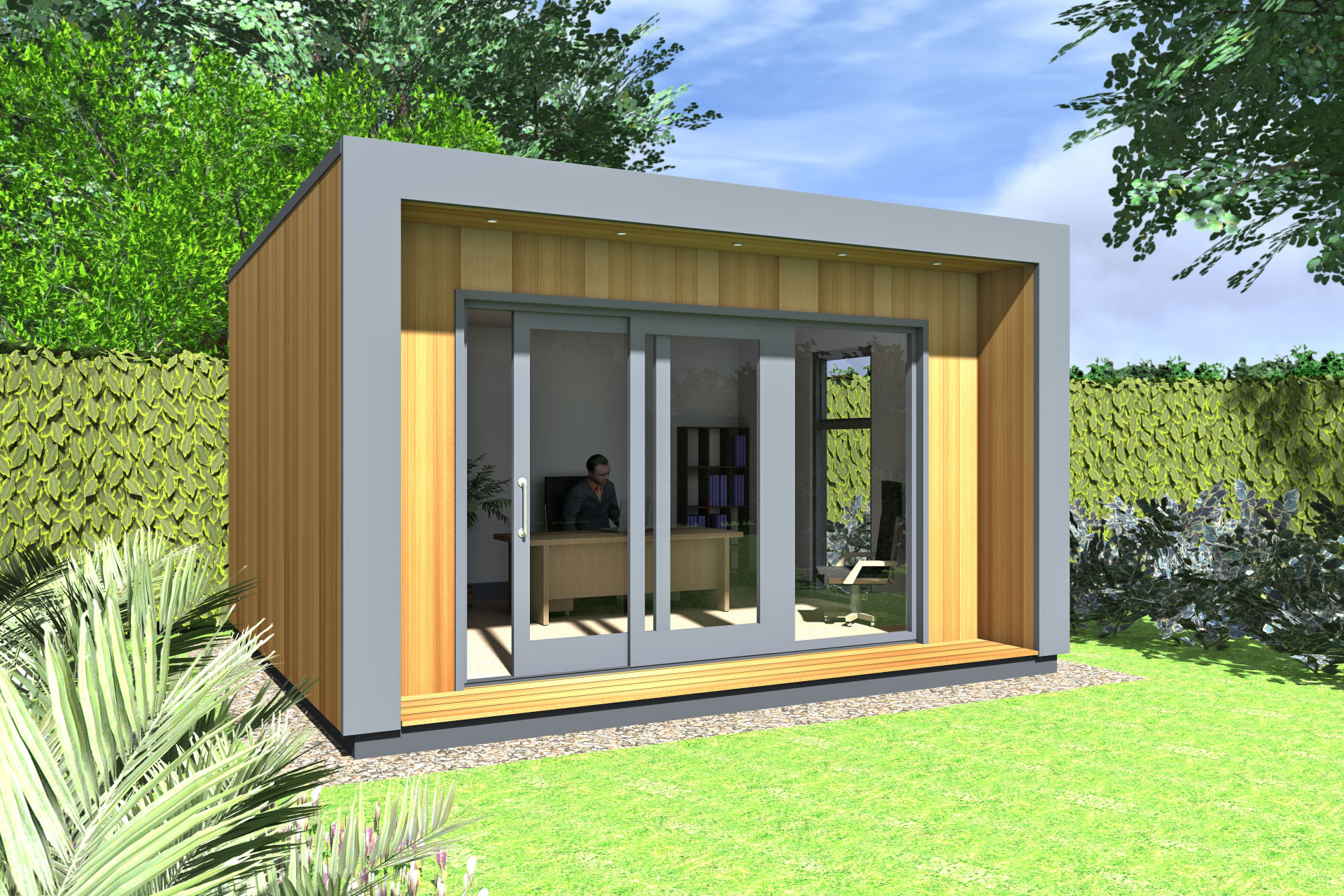 Office pods ideas gallery garden office ideas gallery for Designs for garden rooms