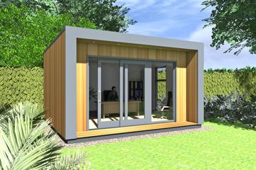 smart garden office. Eco Smart Housing Solutions. Garden Office O