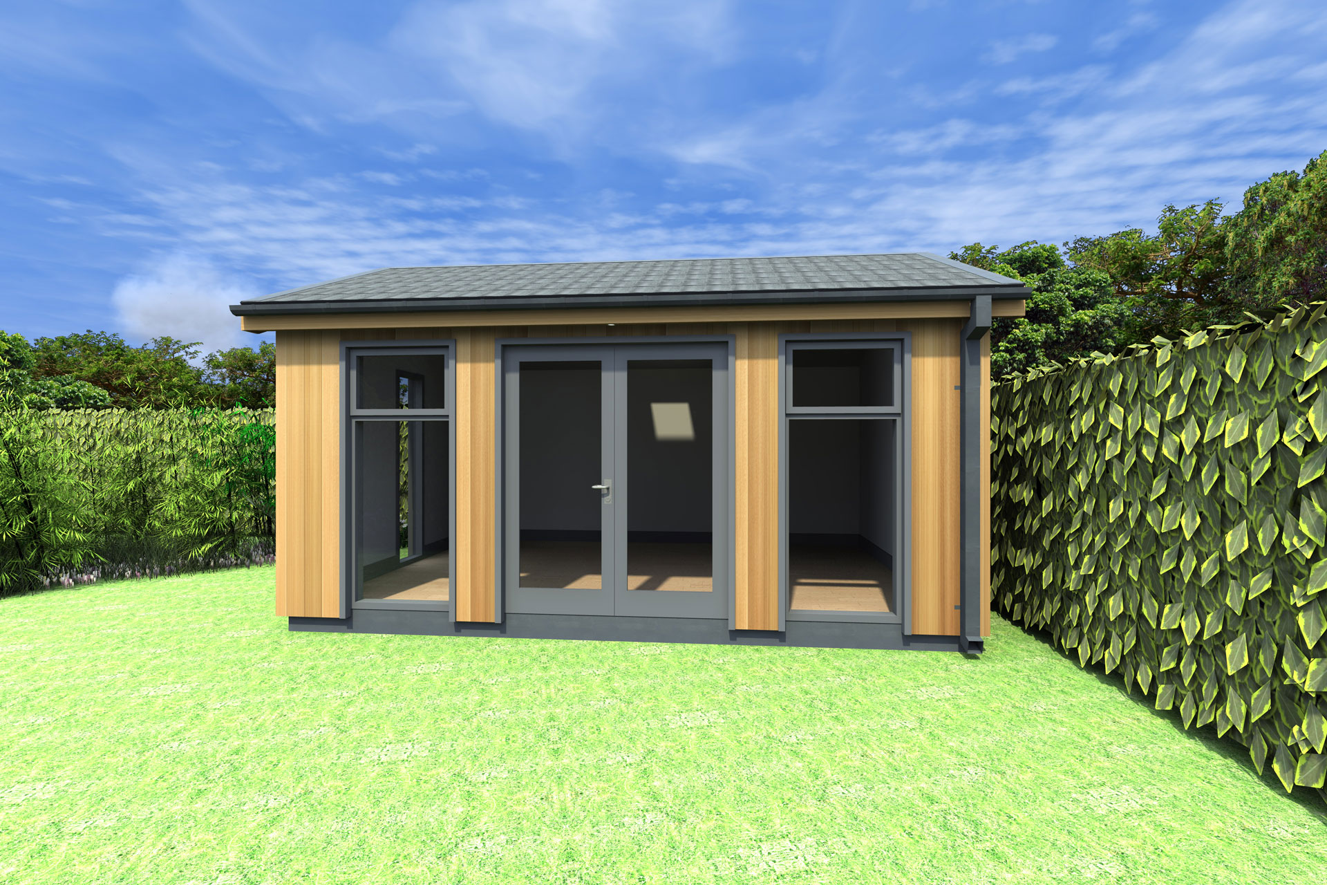 Garden office gallery photos pictures plans design for Garden office design