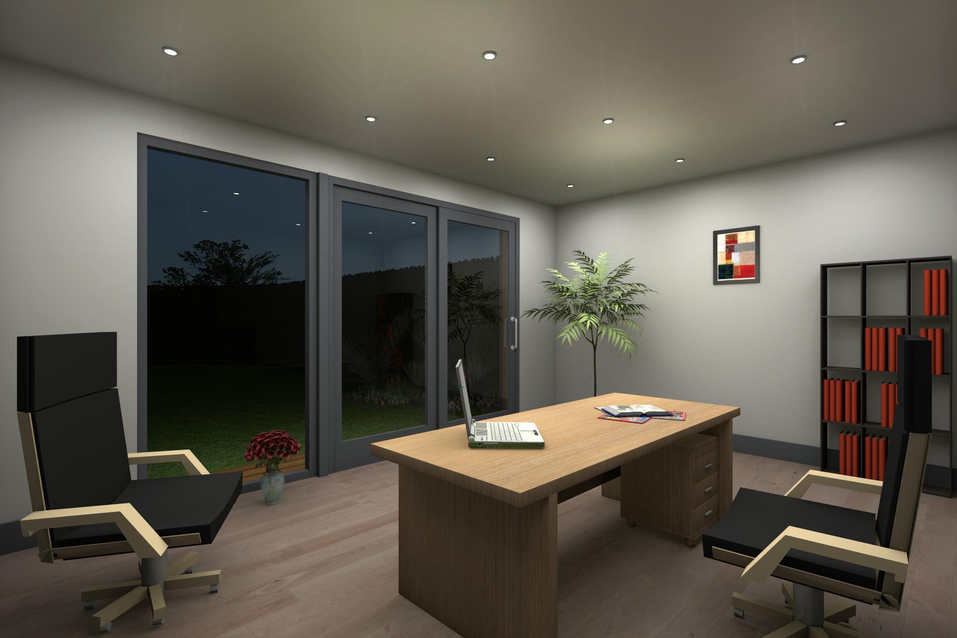 Insulated Garden Office Contemporary Garden Office