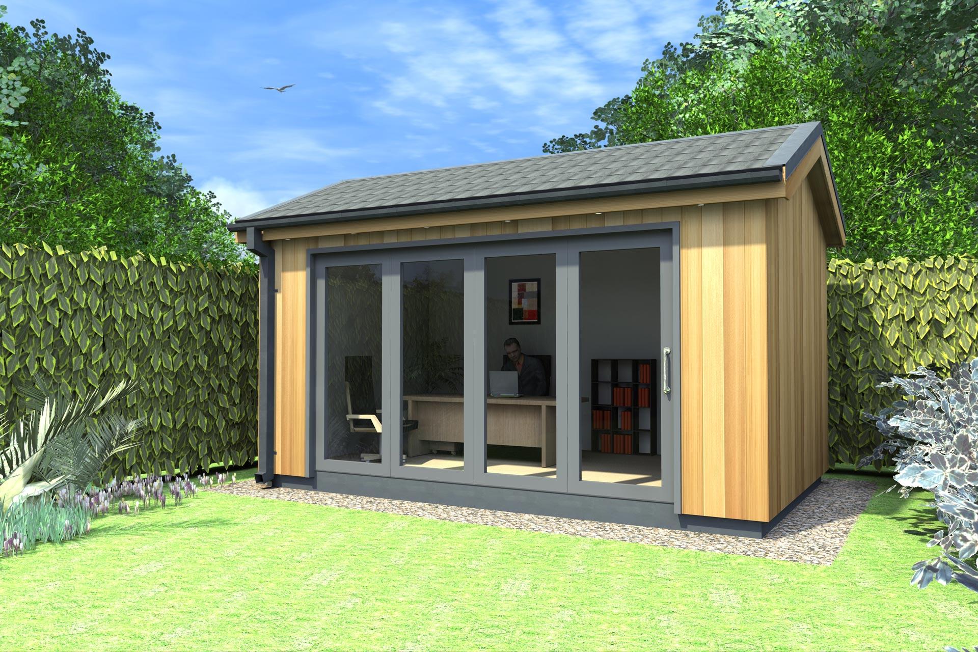 The garden office company ecos ireland for Garden office cube