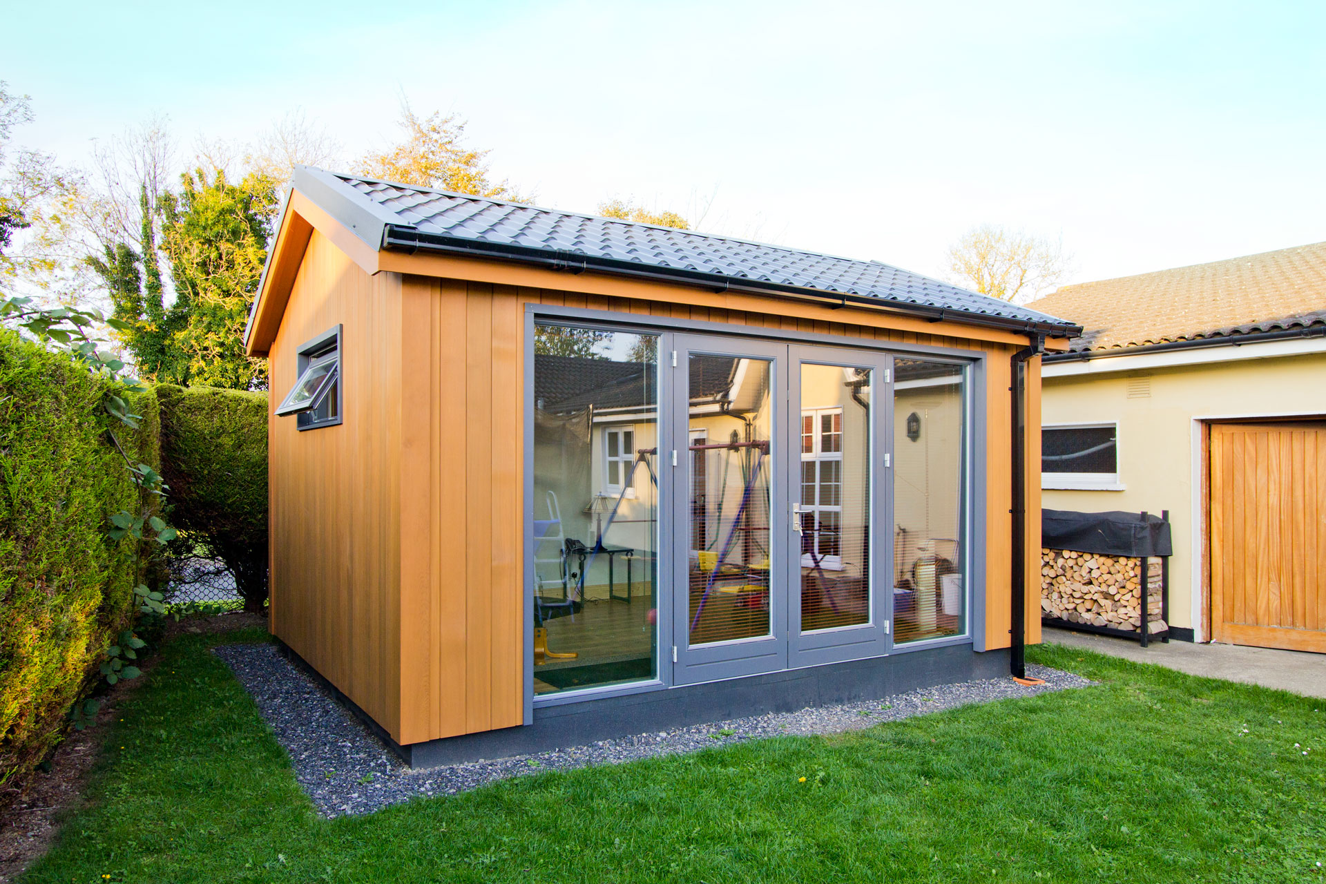 Office pods ideas gallery garden office ideas gallery for Cheap garden office buildings