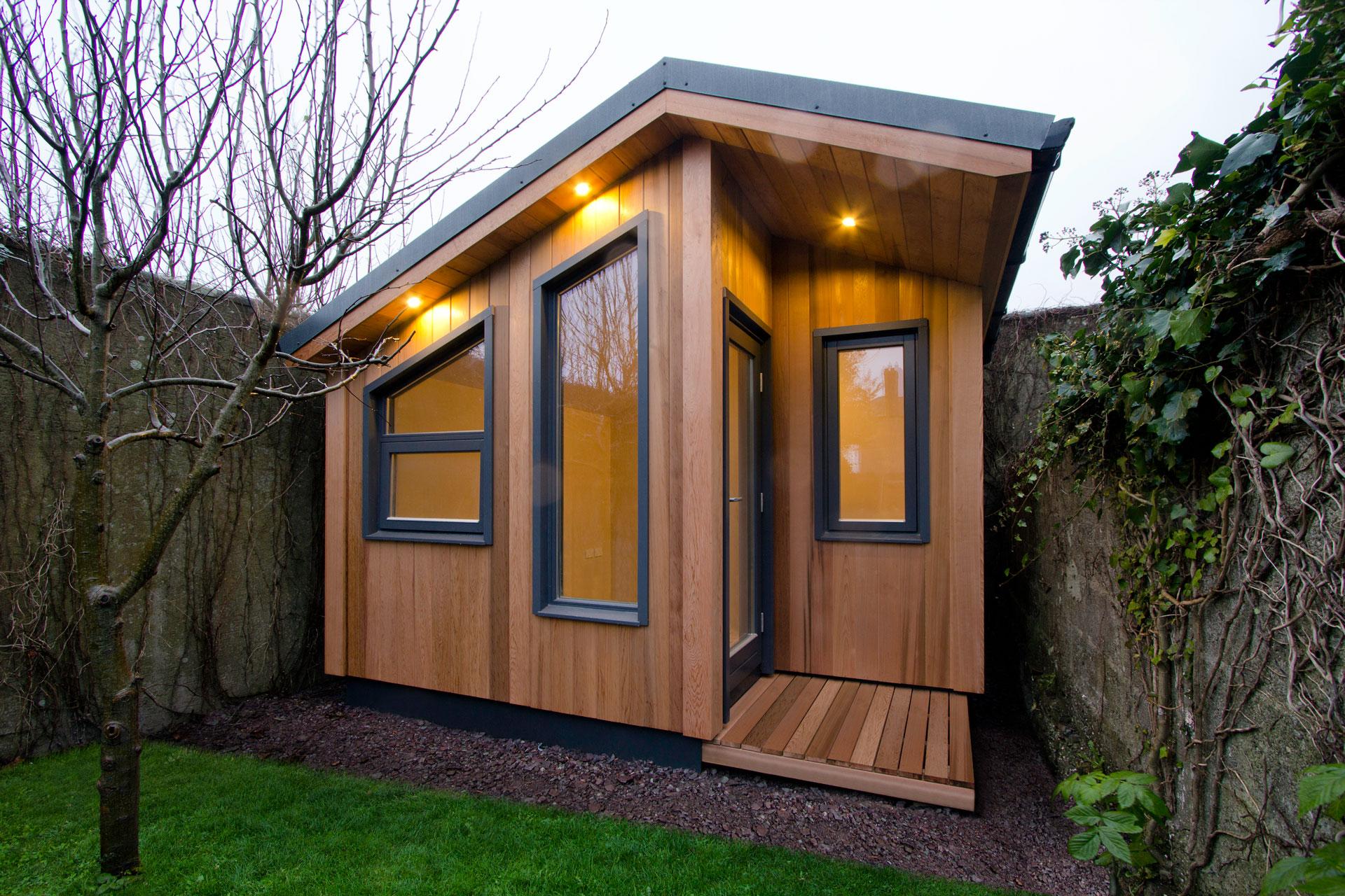 Garden Offices, Bespoke Garden Offices | ECOS Ireland